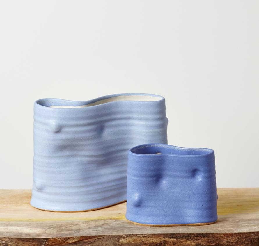 Blue vases 72